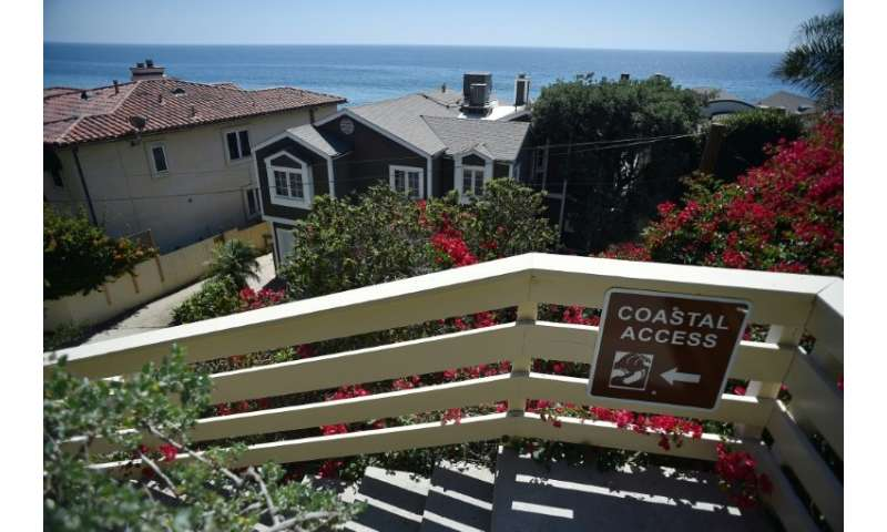 Coastal access walkways lead to public beaches up and down California's coast, but here in Malibu, many homeowners are willing t