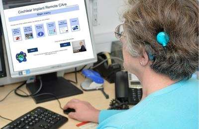 Cochlear implant recipients empowered through home care service