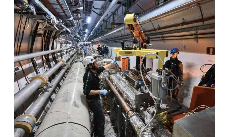 Collimators—the LHC's bodyguards
