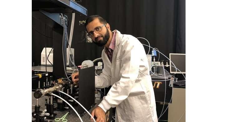 Combing light for tell-tale chemical fingerprints