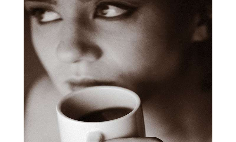 Consuming caffeine from coffee reduces incident rosacea