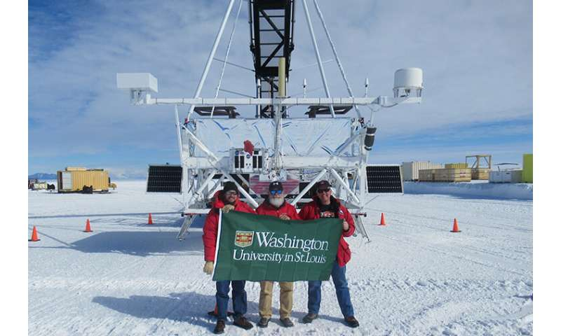 Cosmic ray telescope launches from Antarctica