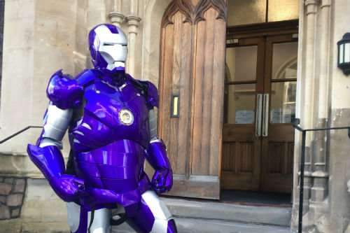 Could 'Iron Man' style suit be the answer to the world's biggest nuclear challenge?