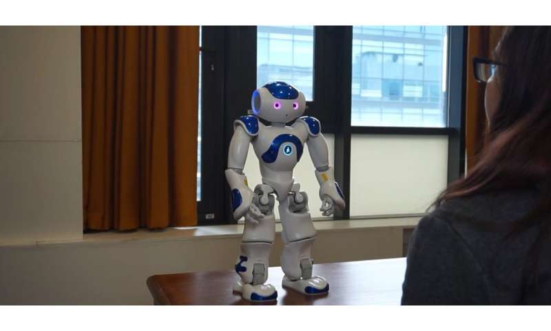 Could robots be counselors? Early research shows positive user experience