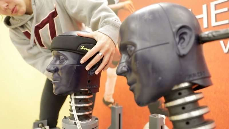 Could soccer headgear reduce concussion risk? First-ever ratings say yes.