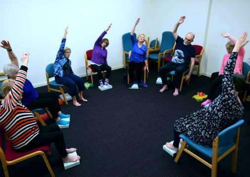 Could yoga benefit older people with long-term health conditions?