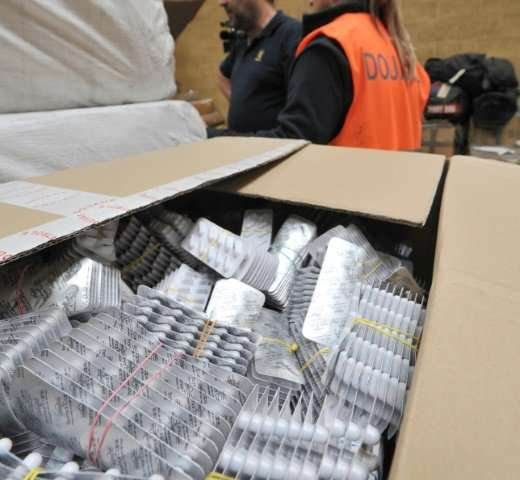 Counterfeit medical pills from India seized in Belgium. Fake drugs from India and China are awash in African markets