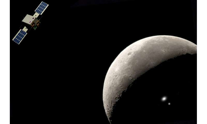 CubeSats for hunting secrets in lunar darkness