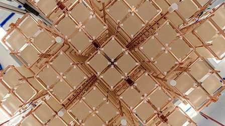 CUORE experiment constrains neutrino properties