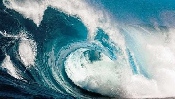 Detecting tsunamis