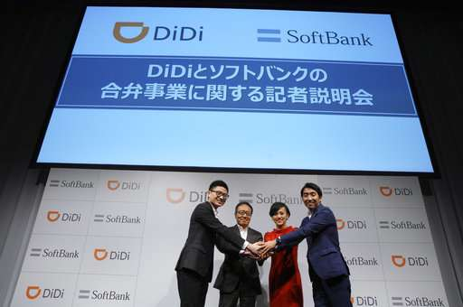 Didi, SoftBank set up taxi-hailing joint venture in Japan
