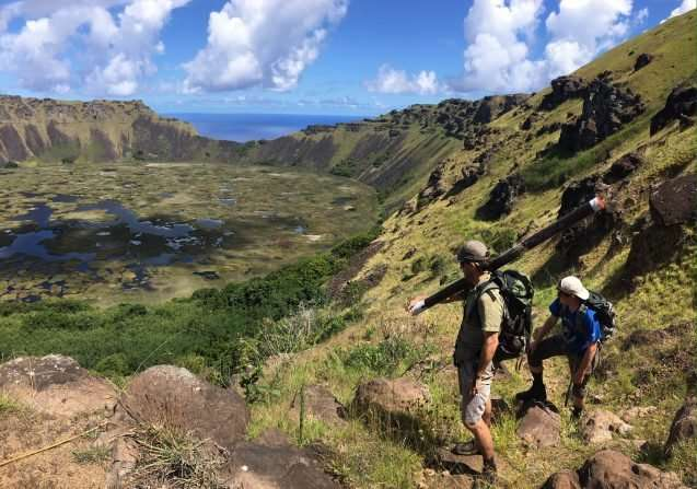 Digging into Easter Island's climate history