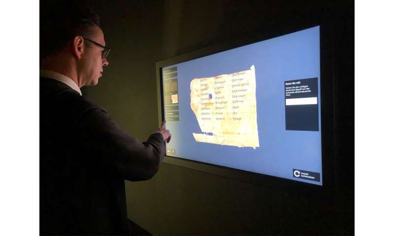 Digitalisation meets the Middle Ages