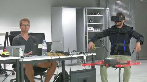 Ditch the joystick? Swiss develop jacket that pilots drones