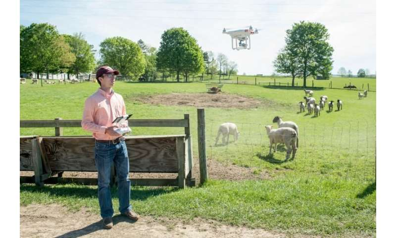 Drones take off in agriculture industry