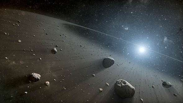 Dust production in evolved exoplanetary systems