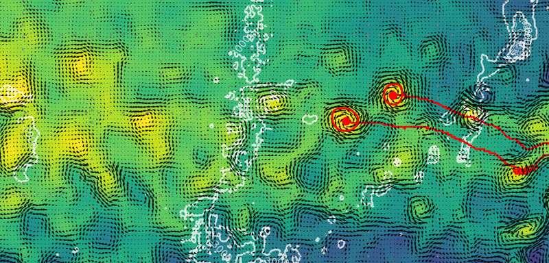 Efficient eddies carry warmer waters across the Atlantic