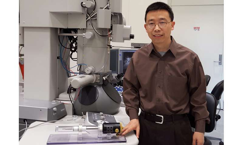 Engineers studying nanodefects suspected of causing early failures of electrical materials