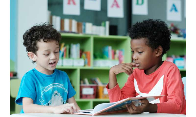 Enjoyment of reading, not mechanics of reading, can improve literacy for boys