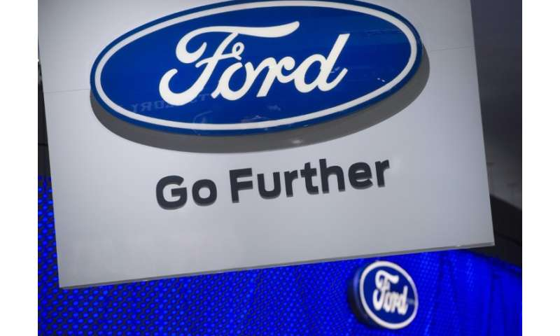 "Envirnomental groups accused Ford of ""hypocrisy"" for calling for revised fuel efficiency standards, a charge the compa"