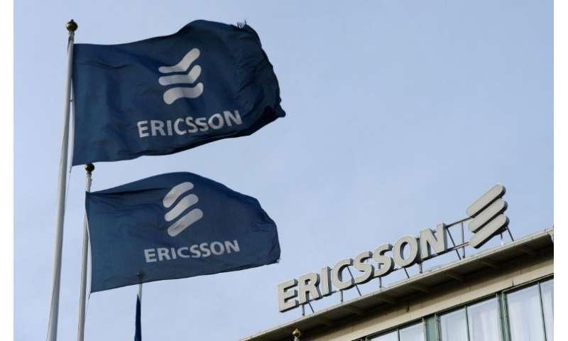 Ericsson shares fly as Swedish telecom giant caps losses
