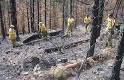 Erosion-risk tools developed for fire-affected volcanic terrain
