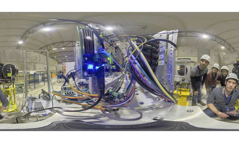 ESA team blasts Intel's new AI chip with radiation at CERN