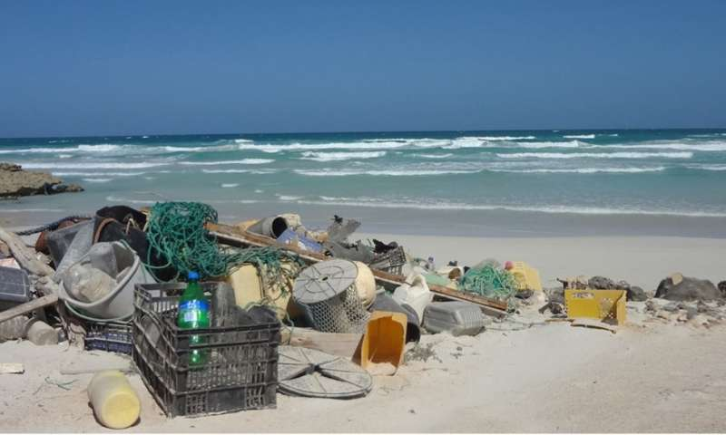 ESA testing detection of floating plastic litter from orbit