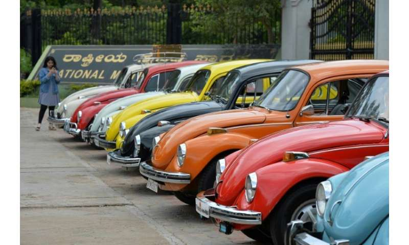 """Even as Volkswagen announced it would end production of its iconice """"Beetle"""" cars in 2019, Volkswagen Group of America"""