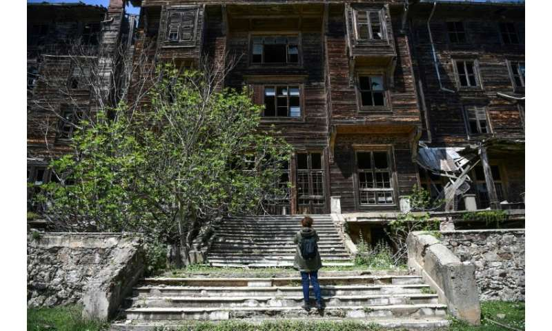 Experts are assessing how much work needs to be done to restore the old Prinkipo Greek Orthodox orphanage and how much it would