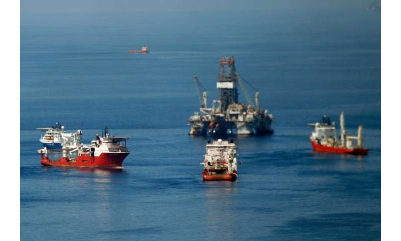 Experts believe there some 4.2 billion barrels of oil in the blocks being auctioned, all located off Mexico's northeastern coast