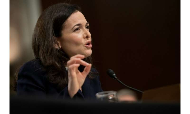 Facebook number two executive Sheryl Sandberg repeated that the social network was too slow to respond to foreign influence camp