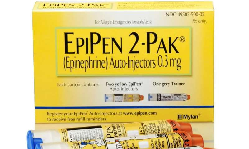 FDA extends EpiPen expiration dates to tackle shortage