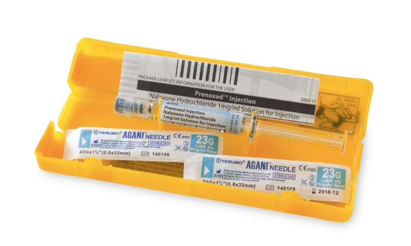 Fear of police stop and search can deter opioid users from carrying anti-overdose kits