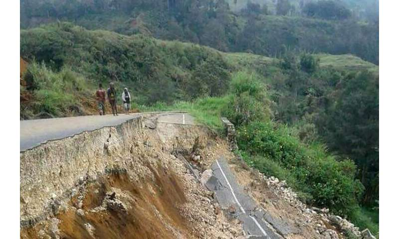 February's quake was the most power to hit Papua New Guinea in a century
