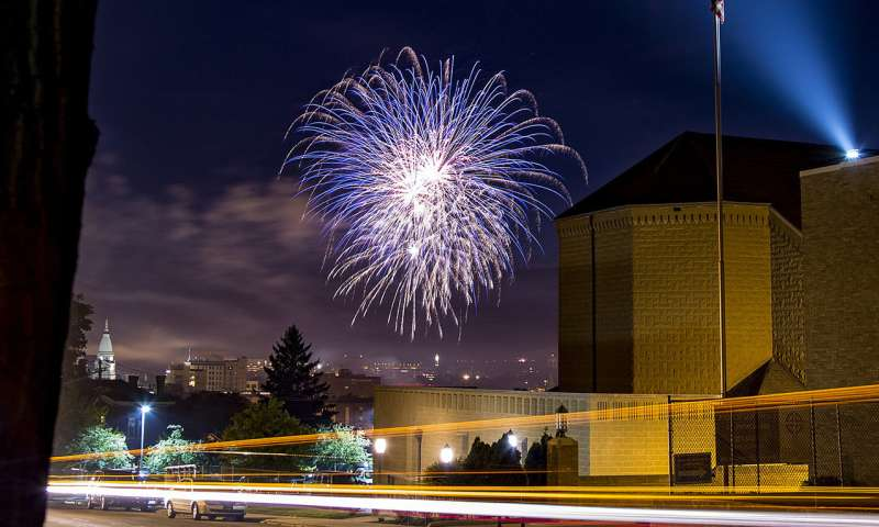 Fireworks are fun for the eyes, dangerous for the ears, says audiology expert