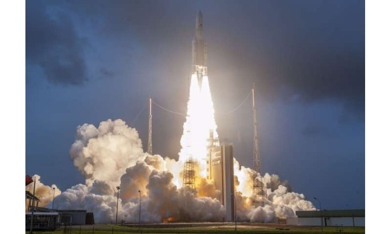 First 'piggyback' kit for monitoring space weather launched