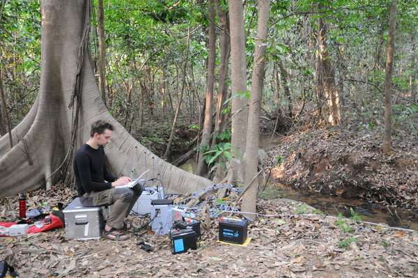 Fish talk-os: Studying electrocommunication in the wild