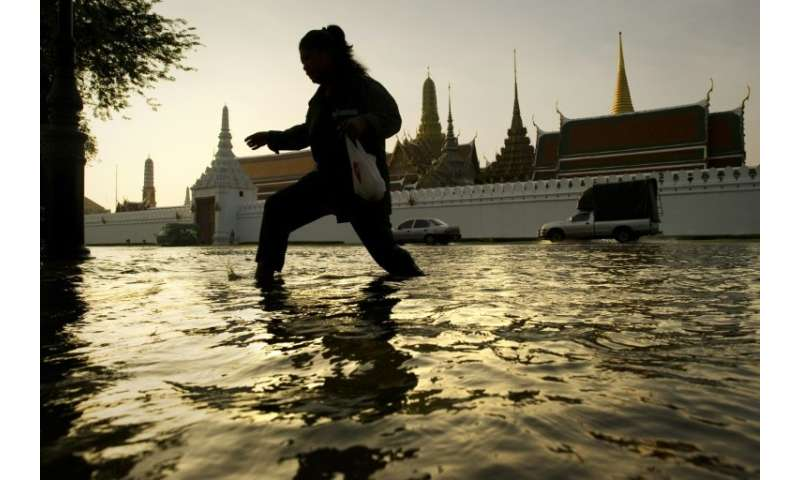 Flooding will become even more frequent in Bangkok as sea levels rise