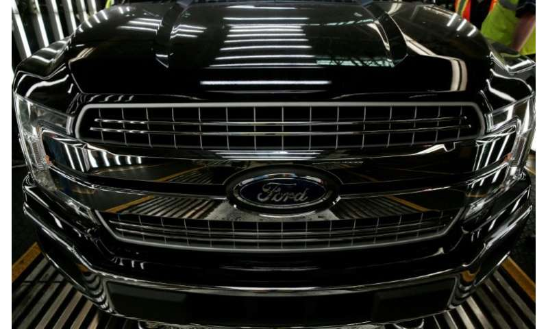 Ford's recall affects F-150 trucks from 2015-2019 built at plants in Michigan and Missouri and 2017-2019 F-series Super Duty veh