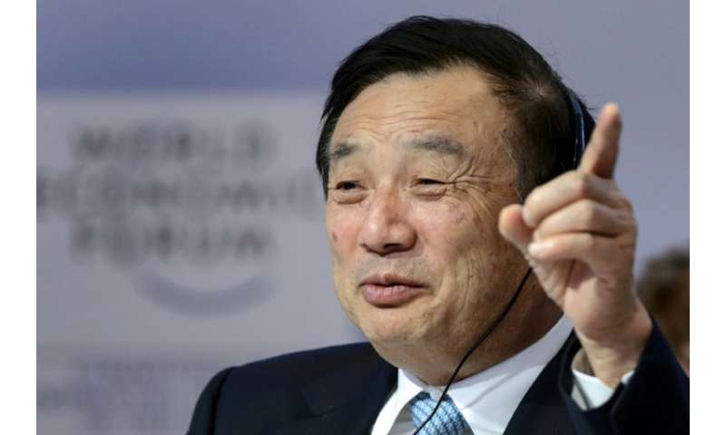 Founder and CEO Ren Zhengfei has likened Huawei to a ruthless 'wolf' tirelessly running down its prey