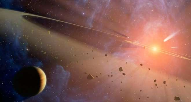 Four extremely young asteroid families identified