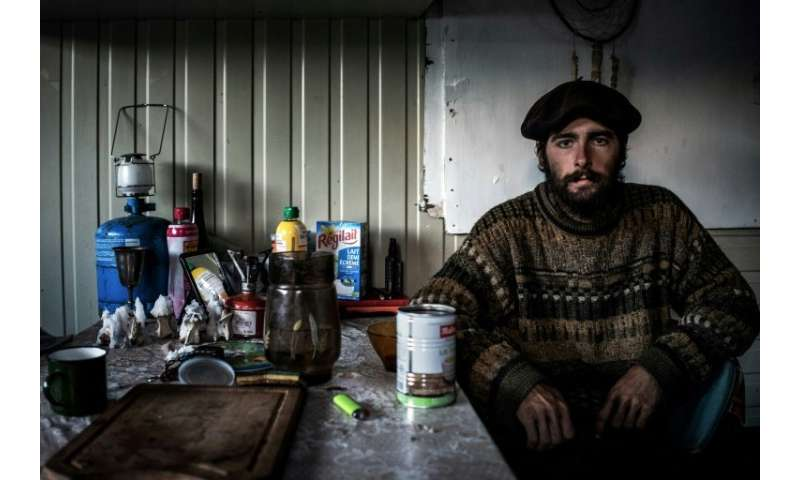 From June to October, Gaetan Meme, 24, is in the mountains looking after 1,300 sheep