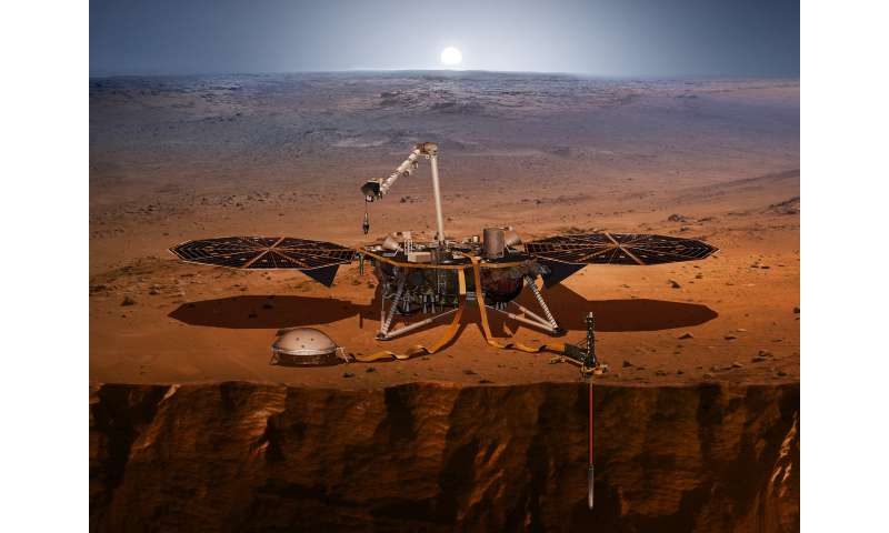 Geosciences researchers will use data from new NASA lander to learn about Mars interior, core