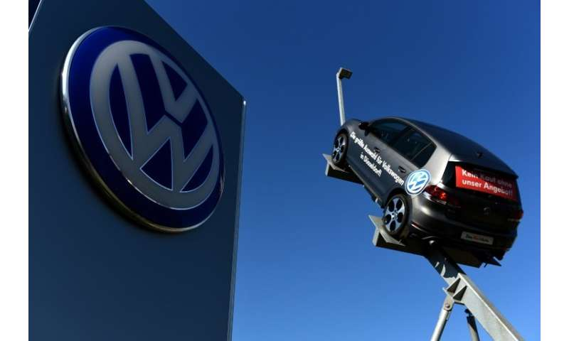 """German auto giant VW eventually admitted to having installed so-called """"defeat devices"""" in 11 million cars worldwide t"""