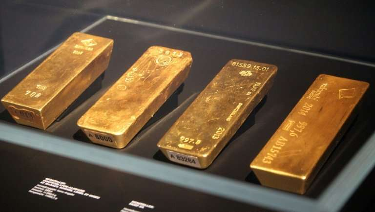 Germany's Money Museum strikes gold as eight bullions go on display