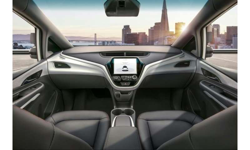 GM's Cruise AV is an autonomous vehicle with no steering wheel or pedals