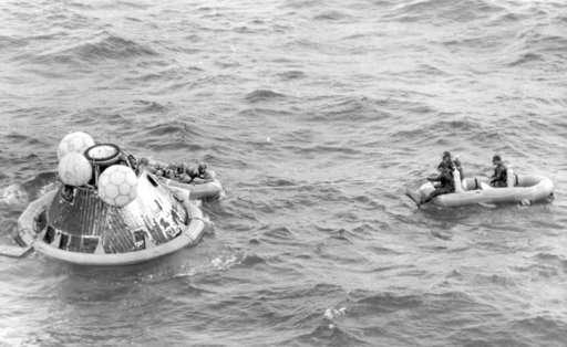 Gold lunar module replica stolen from museum still missing