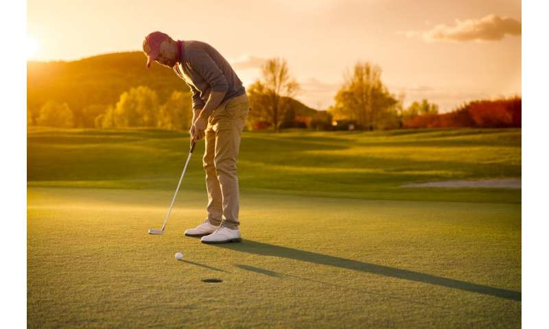 Golf: the neuroscience of the perfect putt