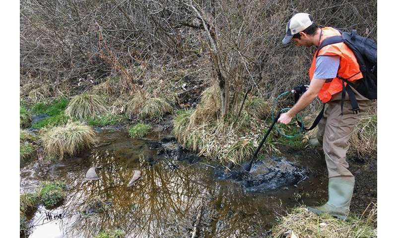 **Ground and stream water clues reveal shale drilling impacts